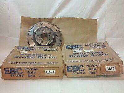EBC Brakes USR7086 USR Series Sport Slotted Rotor