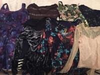 Bundle of dresses/ tops: All Saints, Fat Face, Joules, Oasis and more