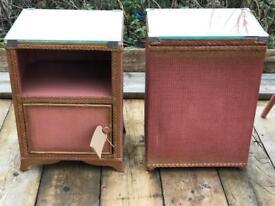 Lloyd loom pink set