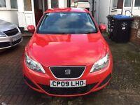 SEAT IBIZA (RED) 1.4 ECOMOTIVE TDI CAR FOR SALE