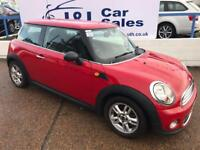 MINI HATCH ONE 1.6 ONE 3d 98 BHP A GREAT EXAMPLE INSIDE AND OUT (red) 2012