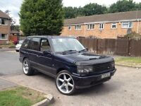 Range Rover 2.5 dse - 22inch rims - DVD player