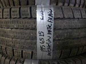 1 winter tire  Michelin artic alpin 195/65r15  SPECIAL