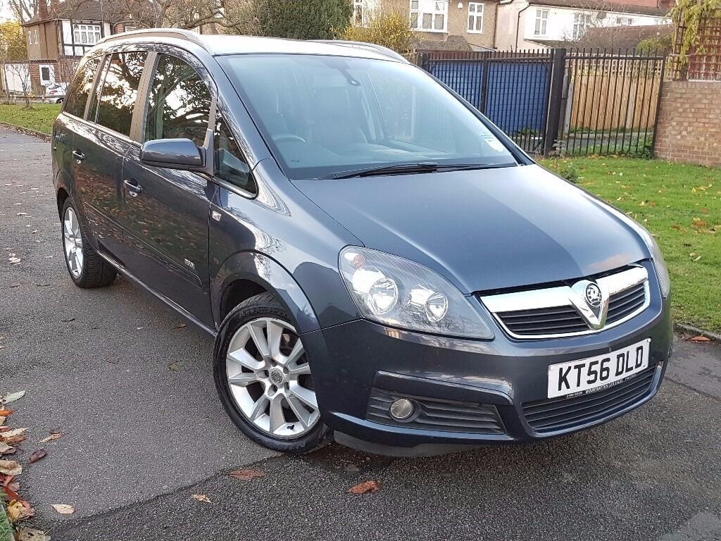 Vauxhall Zafira 1.9 CDTi 16v Design, FSH, New Cambelt, VGC, Free Warranty