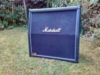 Marshall 1960 Lead 4x12 speaker angled cabinet in very good condition