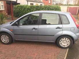 Ford Fiesta LX 2005 1.2 Petrol 5 door, BLUE, only 53,000 miles 1500 ONO