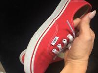 Vans women's Size 4 in red