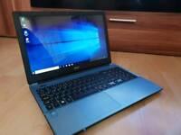 Laptop acer E5 coral blue !!