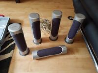 Philips suround sound speakers 5 with wires £10