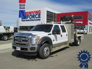2011 Ford Super Duty F-550 XLT Crew Cab 4x4 - 156,093 KMs