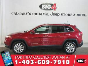 2016 Jeep Cherokee LIMITED, Leather, Pano Roof, V6