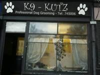 Dog grooming salon