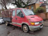 Iveco daily 2003 Crew cab Tipper low mileage 67k on the clock real mileage