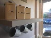 Tea Coffee Sugar Pota