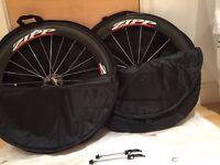 Zipp 404 wheel set. Zipp wheel set. Carbon wheels. Not Zipp 808. Not Enve, FFWR, HED