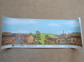 PECO Scene Backgrounds SK26 Old Industrial Town - Extensions Large 228 x 730mm
