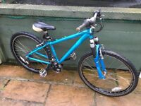 Ladies lightweight aluminium mountain bike