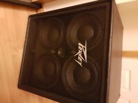Peavey bass amp and speaker cabinet