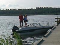 1997 Starcraft 1700 Openbow 120HP mercury outboard deep V hull