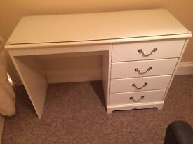 Dressing table and bedside tables