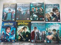 Full set of harry potter films