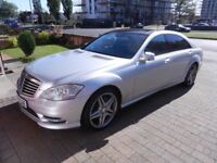 Mercedes s class L beautiful car throughout hight of luxury motoring