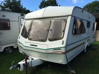 Caravan 4/5/6 berth Lunar Venus 1994 lovely condition Light weight *awning available
