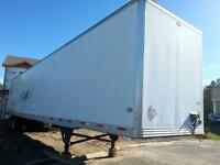 2007 UTILITY 53FT DRY VAN TRAILER WITH SLIDER SUSPENSION SYSTEM