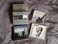 Collection of CD's by QUEEN.