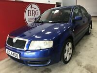 Skoda Superb (blue) 2004