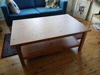 Hemnes Solid Wood Coffee Table