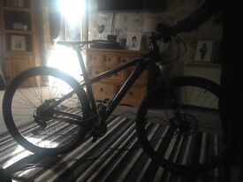 Cube limited edition men's mountain bike
