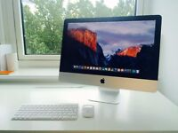 Apple iMac, 21.5inch, 2.9GHz processor, 8GB RAM + Wireless Keyboard and Magic Mouse. USED / LIKE NEW