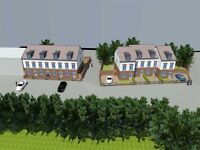 Approved Development Site Land For Sale - Ideal For Business/House - UK Planning Permission Granted