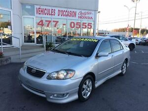 2005 Toyota Corolla Sport, toit ouvrant, A/C