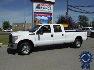 2016 Ford F350 XL SuperCrew 4WD - Gas - 8 Ft Long Box, 20,422 KM