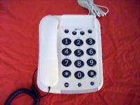 Dallas 10 Big Button corded Telephone