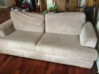 Very comfortable sofa and chairs (used)