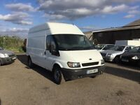 2002 ford transit lwbase hightop side loader good driver in clean condition in and out plylined