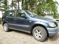 Much Loved ML 270 CDI Leather Seats and Trim (tan) Tow Bar,ATS GrabberTyres , Bose Sound System