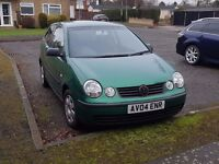 VW POLO 1.2 TWIST 1.2 PETROL. Low milage . Very good condition.