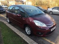 Citroen C4 Picasso VTR+ 1.6Hdi 93000 miles FULL SERVICE HISTORY 1 owner