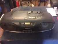 Panasonic RX-DS101 XBS Portable Radio CD Player Cassette Boombox