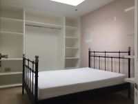 Ikea Svelvik Metal Double Bed Frame in Black - Used but in excellent condition.