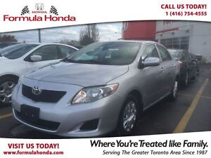 2010 Toyota Corolla CE | LOW KM | GREAT VALUE