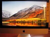 Apple iMac 21.5 inch, Intel Core 2 Duo 3.06GHz 4GB 500GB Mac OS X High Sierra PRISTINE CONDITION