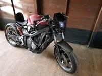 Suzuki gsx750f rat chop ##swap##