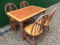 Dining table and chairs FREE DELIVERY PLYMOUTH AREA