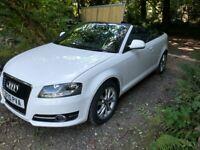 Audi A3 Convertible 1.6 petrol manual very Clean car