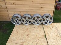 4 x 15 inch genuine Merc used alloys for sale - delivery available